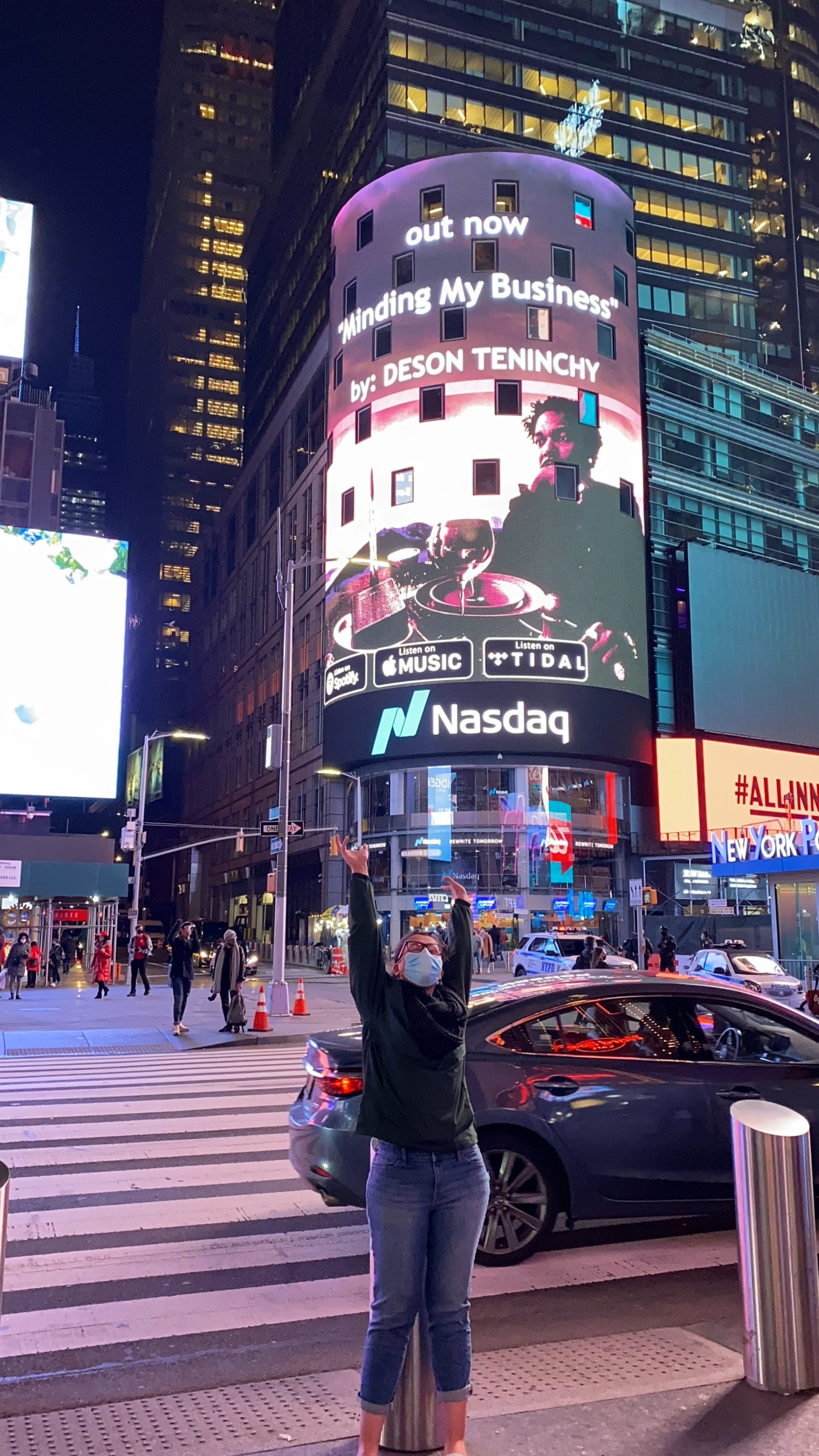 Ana Ramos, former County Prep student, Designs a Billboard Displayed in Times Square